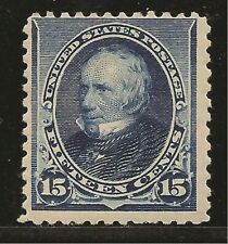 1890 SC #227 Mint XF - 15c indigo Clay NH  - CV $675.00 (42886)