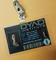 Orphan Black ID Badge -DYAD Institute Beth Childs Cosplay prop costume