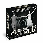 "DANCING, STROLLING  ROCK ""N"" ROLLING  ORIGINAL ARTISTS- 3CDS- 75 TRACKS"