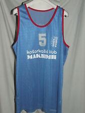 Shirt Maillot Tank Top Basketball Sport Match Worn Kk Maksimir Zagreb