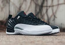 2017 Nike Air Jordan 12 XII Retro Low BG SZ 5Y Playoff White Black OG 308305-004