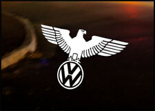 Vw Wolfsburg Eagle coche decal sticker Vw Camper Bus Golf Beetle Dub Bug