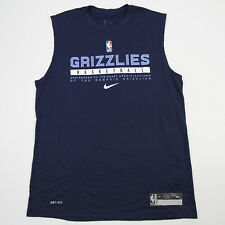 Memphis Grizzlies Nike NBA Authentics Nike Tee Sleeveless Shirt Men's