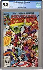 Marvel Super Heroes Secret Wars #1 CGC 9.8 1984 3718444005