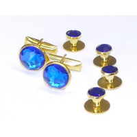 NEW Men/'s Martini and olive Cuff links Studs Gift Box 79.95 FREE SHIP TUXXMAN