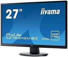 """Iiyama ProLite X2783hsu-b3 27"""" Full HD A-mva Mat Noir É"""