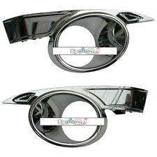 Fog Light Lamp Chrome Cover 2PCS for GM Chevrolet Captiva 2008+ OEM Parts