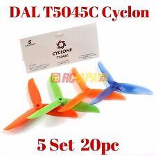 DAL DALProp T5045C Cyclone Tri-Blade Propeller 5x4.5x3 Quad Props Mix Color 20pc