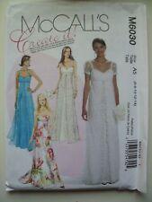 WEDDING - BRIDESMAID DRESS - FORMAL pattern MCCALLS M6030 SIZE 16-20  NEW