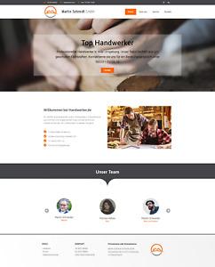 Webseite – Homepage schon ab 24,90 € / WordPress Website (Premium24- Paket )