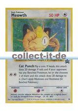 Pokemon Promokarten 10 - Meowth (Mauzi) - GB Holo Englisch