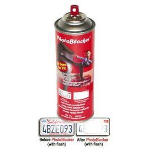 Genuine PHOTOBLOCKER Red Light / Toll / Speeding Camera Spray