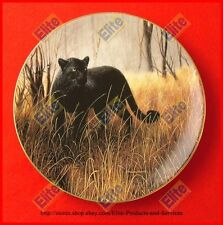 """The World's Most Magnificent Cats """"Powerful Presence"""" Plate - MIB+COA by Frace"""
