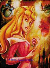 "Disney's ""Princess Aurora"" Cross Stitch Pattern CD"