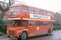 London Transport RML2294 Golders Green 1979 Bus Photo