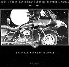 Harley davidson manuals literature ebay or best offer 2001 harley davidson fltrsei2 road glide service manual supplement fltrsei fandeluxe Choice Image