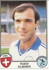 N°161 RUEDI ELSENER # SWITZERLAND STICKER PANINI EUROFOOTBALL 82