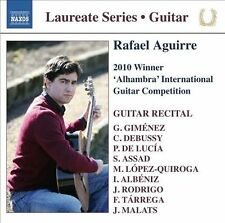 Guitar Laureate Series: Rafael Aguirre 2010 Winner of the Alhambra International