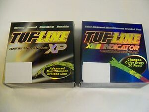 30 lbs - 150 YDS TUF LINE XP SUPER BRAID FISHING LINE--  CHOOSE COLOR