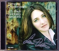 Simone DINNERSTEIN Signiert BACH Goldberg Variations TELARC CD 2007 Variationen