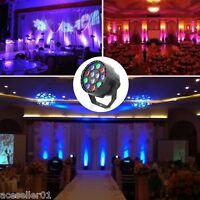 12W RGBW LED DMX-512 Stage Lighting Laser Strobe Projector Party DJ Disco Lamp