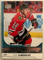 2017-18 Alex Debrincat Upper Deck #221 Young Guns Rookie Chicago Blackhawks
