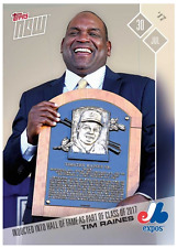 2017 Topps Now #414 HALL OF FAME CLASS OF 2017 - TIM RAINES EXPOS