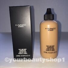 New Mac Face and Body Foundation C6 120ml 100 % Authentic