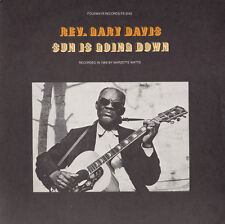 Rev. Gary Davis - Sun Is Going Down [New CD]