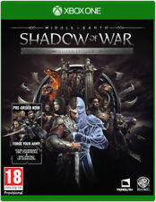 Middle Earth:Shadow of War - Silver Edition - Xbox One
