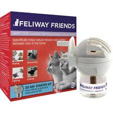 Feliway Friends 30 Day Starter Kit Diffuser and 48ml Bottle