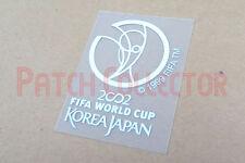 FIFA World Cup 2002 Korea Japan White Sleeve Soccer Patch / Badge