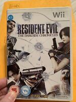 Resident Evil: The Darkside Chronicles (Nintendo Wii, 2009) - Disc Very Good