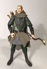 "Lord Of The Rings ROTK Legolas 6"" Figure Deluxe Horse Rider Bow Arrows Toybiz"