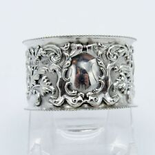 Antique English Sterling Birmingham 1903-4, Napkin Ring, NR
