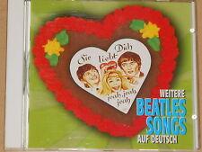BEATLES SONGS AUF DEUTSCH - CD Bear Family