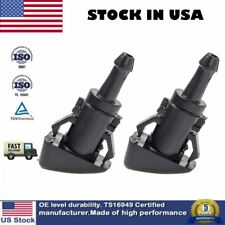 2 Windshield Washer Wiper Water Spray Nozzle For Chrysler Dodge 300 Charger Ram(Fits: Chrysler)