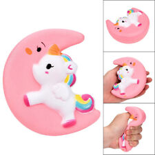 Squishy Cute Moon Unicorn Scented Cream Slow Rising Squeeze Decompression Toys