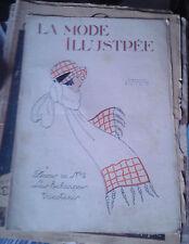 La Mode Illustrée. N° 48. 26 novembre 1922. Sans les annexes.