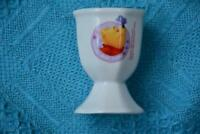 Official Disney WINNIE-THE-POOH EGG CUP. Hearts & Hums -Collectable Kitchenalia