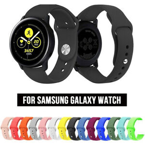 41/45mm Silicone Sport Band Strap for Samsung Galaxy Watch 3 Active 2 Gear S3 S2