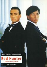 Red Hunter ORIGINAL Aushangfoto Jean Claude Van Damme