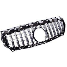 CALANDRE LOOK GTR NOIR CHROME MERCEDES CLA C117 X117 W117 PHASE 1 02/13 A 01/16