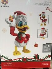 Donald Duck  + Mickie Mouse  , Set 2 Building Blocks with out original box