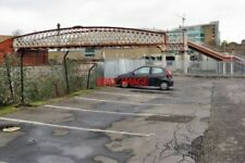 PHOTO  2009 OLD FOOTBRIDGE MANCHESTER EXCHANGE RAILWAY STATION IN ITS DAY MANCHE