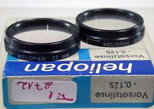Original Heliopan Nahlinse Close-up Filter Lens A-32mm 32Ø 2712/8