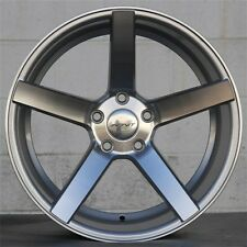 NEW(4) INOVIT 18x8 5x108 WHEELS VOLVO C70 JAGUAR S, X TYPE FOCUS FUSION COUGAR