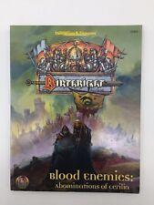 Advanced Dungeons & Dragons Birthright sangre enemigos abominaciones de cerilia