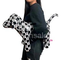 New Victorias Secret Pink Jumbo Giant Big Xl 24�X16� Dog Toy Checkered Rare