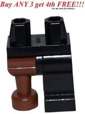☀️NEW Lego Legs Pants MINIFIGURE MINIFIG Pirates Black Classic Brown Peg Captain